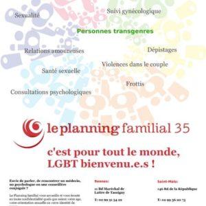 Appel à Projets 2018 : Le Planning familial 35