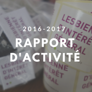 Rapport d'activité 2016-2017